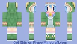 *CU* Yoshino - (Date A Live) Minecraft Skin