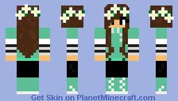 Winter Sweater Girl Minecraft Skin