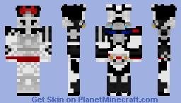 Kamen Rider Drive (Type Wild) Minecraft Skin