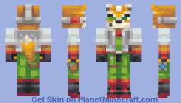 Fox McCloud Minecraft Skin