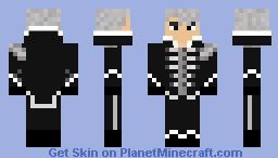 Gerard Way My Chemical Romance Black Parade Suit Minecraft Skin