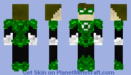 Green Lantern Minecraft Skin