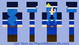 Juvia Lockser of Fairy Tail Minecraft