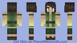 Korra - Book 4 Minecraft Skin