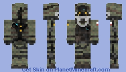 Call of Duty: Advance Warfare (U.S. Marine) Minecraft Skin