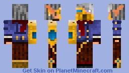 Steampunk Cyborg Minecraft Skin
