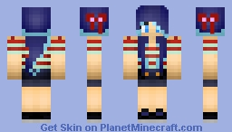AshleyMariee Blue Hair Minecraft