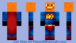 MCAnnoyingOrange Minecraft Skin