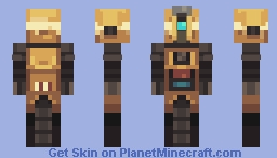Borderlands 2 - CL4P-TP Minecraft Skin