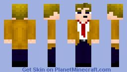 DC Comics - John Constantine Minecraft Skin