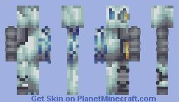Cyborg Furnace Yeti [IrishChoas Pallet contest] Minecraft
