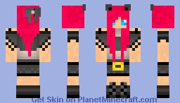 More Cat Ears? Minecraft Skin