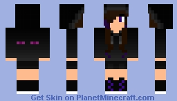 EXPERIMENTAL Ender Girl Minecraft Skin