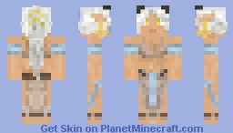 Liara Eversong- Tiefling Dancer Minecraft Skin
