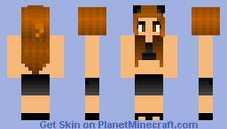 *Ariana Grande* Love me harder Minecraft Skin