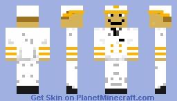 Captain Papa Minecraft Skin