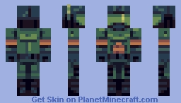 DOOM - DOOM Guy Minecraft Skin