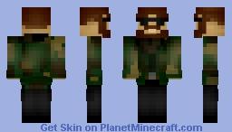 Rebel Uniform Minecraft Skin