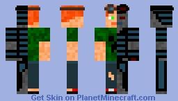Man V.S Machine Minecraft Skin