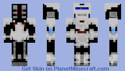 simple factory robot Minecraft Skin