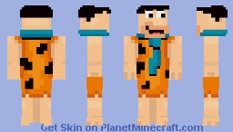 Fred Flintstone (The Flintstones) Minecraft Skin