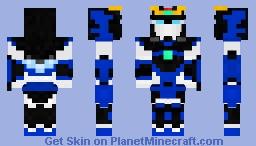 Personal Gundam Promethea Minecraft Skin