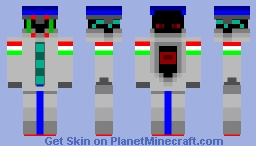 Hungarian Droid Soldier Minecraft Skin