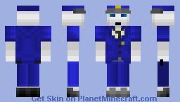 1.8 PR442-Industrial Prison Guard Minecraft Skin