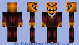 Pumpkin King Minecraft Skin