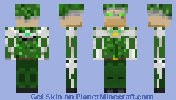 Cyber Soldier (contest entry) Minecraft Skin