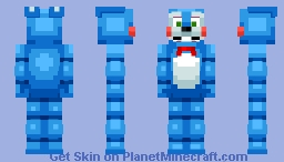 FNAF - Toy Bonnie (Shadow Bonnie in desc.) Minecraft Skin