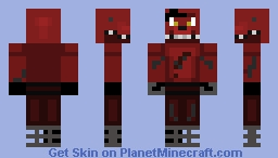 Foxy the Pirate Fox Minecraft Skin