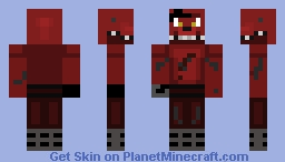 Foxy for JordanDull116111 Minecraft Skin