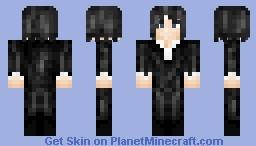 Tensa Zangetsu (Spirit) Minecraft Skin