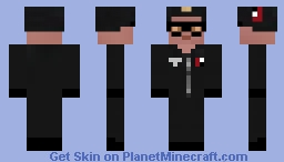 Black Guard - Return to castle Wolfenstein Minecraft Skin