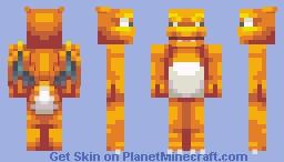 Charizard Minecraft Skin