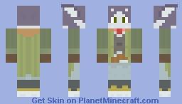 Log Horizon Chief Nyanta! Minecraft Skin