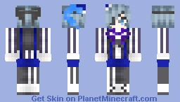 Black Butler Book of Circus Ciel (─‿‿─) Minecraft Skin