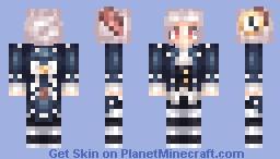 Clock Rabbit Minecraft Skin