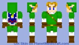 Link (OoT Variation 1.8) Minecraft Skin
