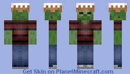 cake head zombie Minecraft Skin
