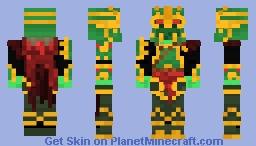 Wraith King ( Dota 2 ) Minecraft Skin
