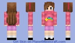 Mabel (Gravity Falls) Minecraft Skin