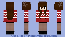 ♥cυddleѕ♥ Can't Wait For Christmas Minecraft Skin