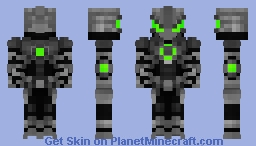 Future Battle Nano Drone. FIR Skin Contest (Much Better in 3D) Minecraft Skin