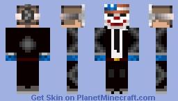 Dallas (Payday 2) Minecraft Skin