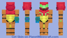 Samus - For Kioki's Video Game Contest Minecraft Skin