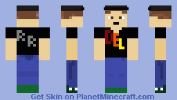 Delmerik of the Renegade Regiment Minecraft Skin