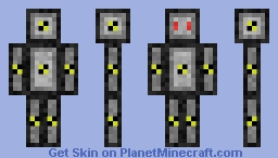 test bot Minecraft Skin