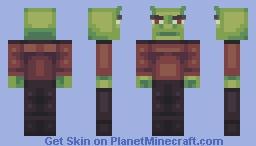 star shrek Minecraft Skin